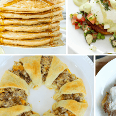 Weekend Breakfast Buffet Recipes