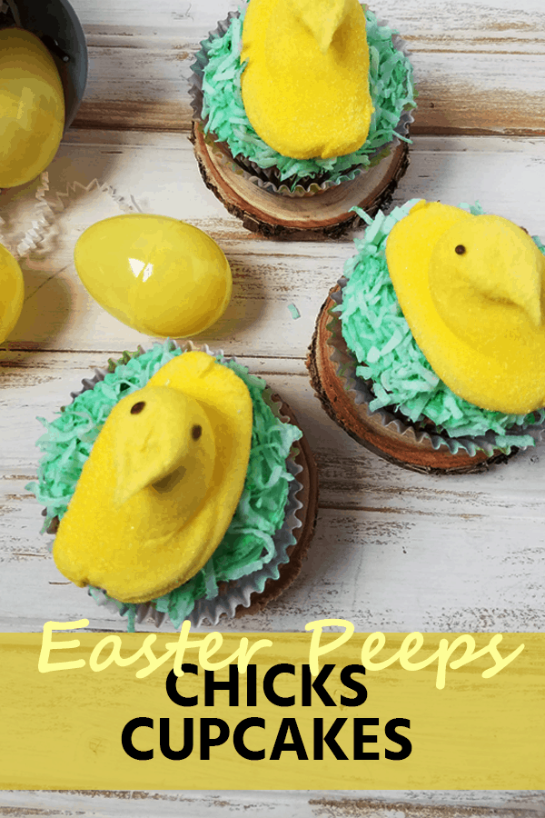Celebrate Easter with these cute, colorful and delicious Easter Peeps Cupcakes that will surely add fun to your holiday festivities.