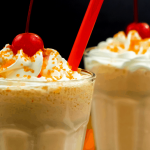 Escape the heat with this Homemade Orange Creamsicle Milkshake. Indulge your family with the classic flavors of orange and vanilla.
