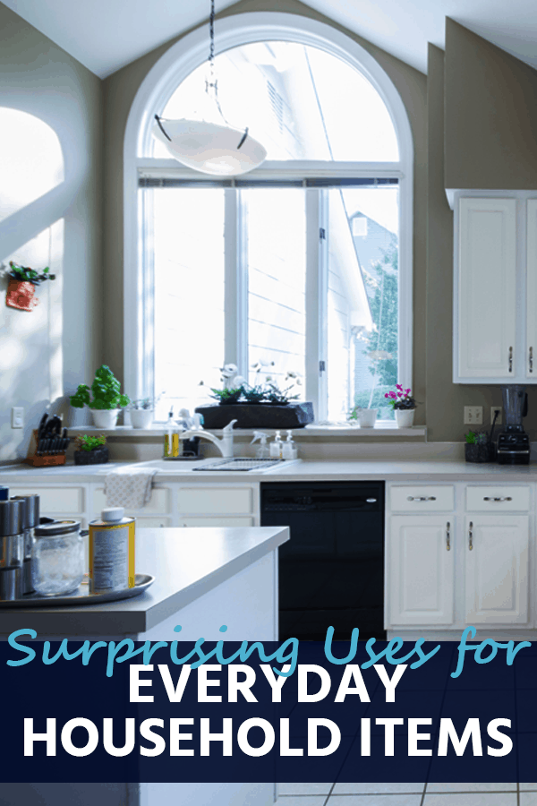Keep your home clean and tidy with items already in your pantry. Here are a few surprising uses for everyday household items!