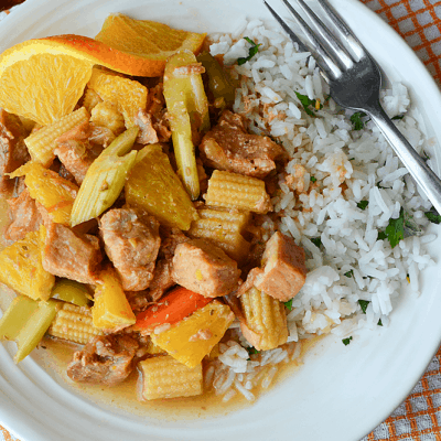Zesty Slow Cooker Orange Ginger Pork