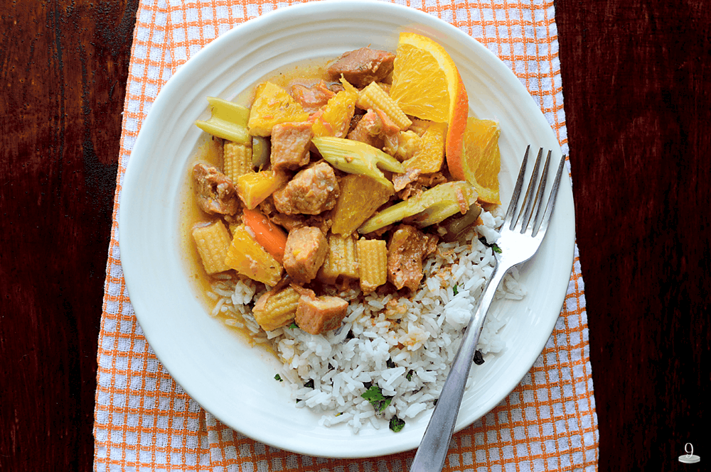 We love the zesty flavor of this Orange Ginger Pork recipe.