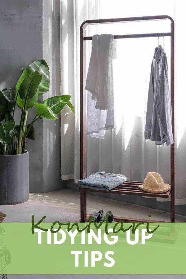 Ways to spark joy using these Konmari Tidying Up Tips