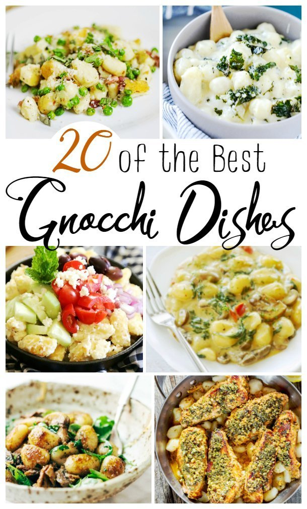 Homemade Gnocchi brings Italian Grandma's love to any kitchen! Enjoy these delightful dishes any time! Homemade Gnocchi is one of my favorite things in the world! They are quick to cook, versatile and makes a stunning dinner party dish or easy family meal.