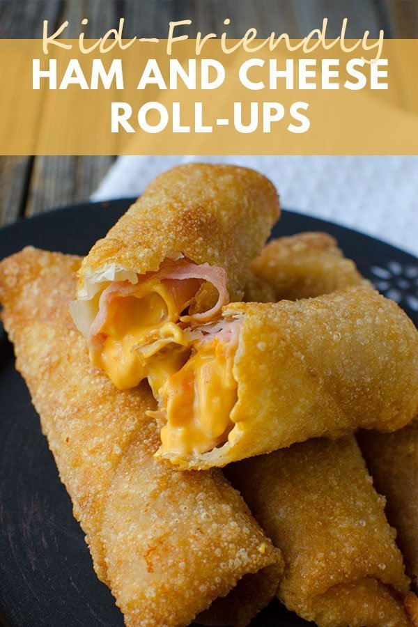 These kid-friendly ham and cheese roll ups are crunchy, cheesy and very delicious! Easy to double the recipe - perfect for lunch, snacks & potlucks!