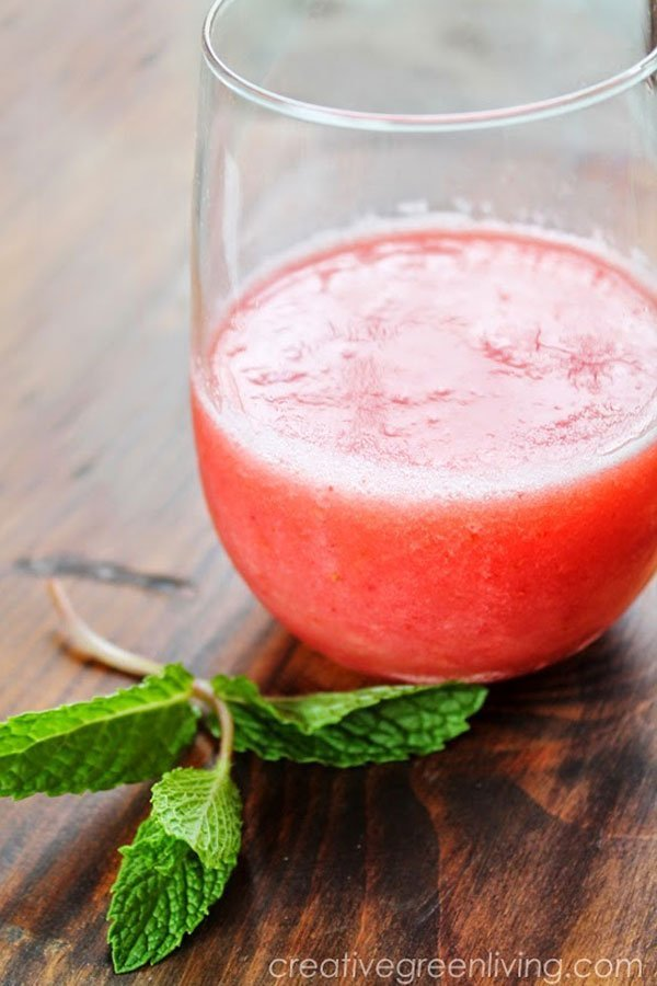Watermelon Coconut Water Refresher Smoothie
