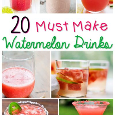 21 Must Make Watermelon drinks