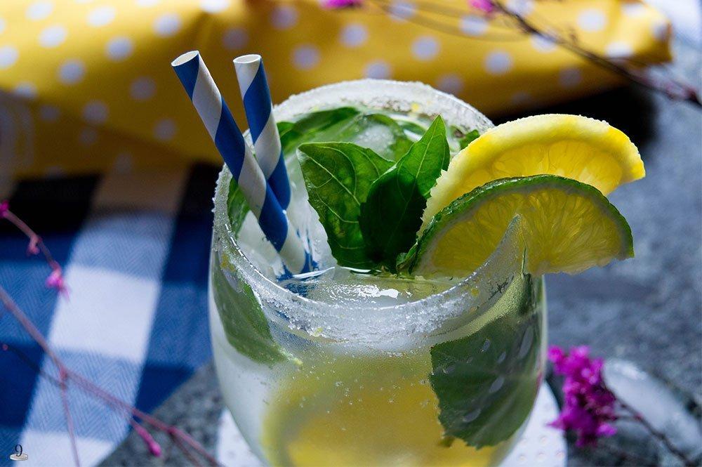 Lemon Basil Mojito: Mom Themed Cocktails