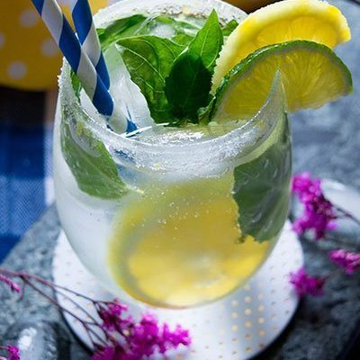 Lemon Basil Mojito: Mom Themed Cocktails