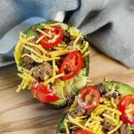Are you looking for some Kid Friendly Keto Recipes? These Taco Stuffed Avocados are beyond amazing! Super simple too, BUSY MOM for the win!