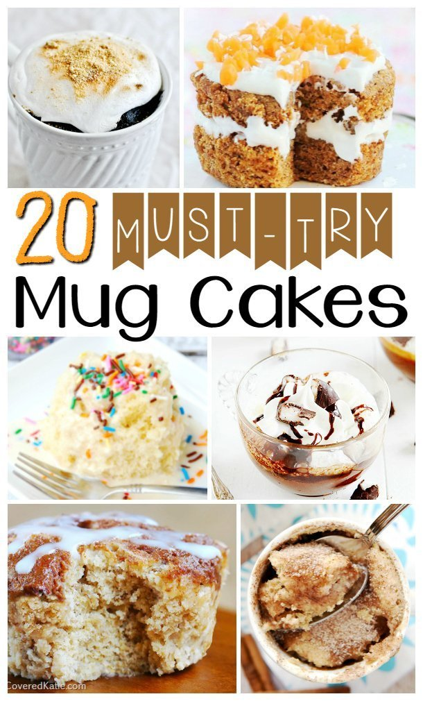 Must Try Microwave Mug Cakes Quick And Easy Desserts