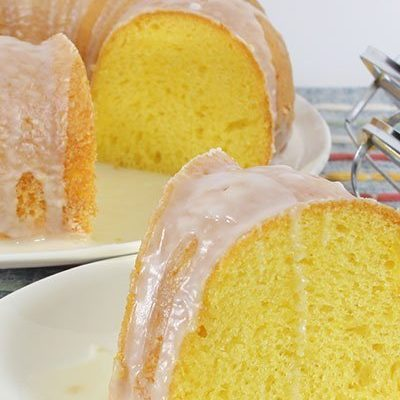 Lemon Pudding Bundt Cake