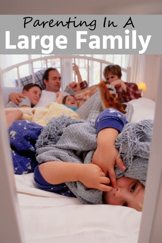 Parenting In A Large Family