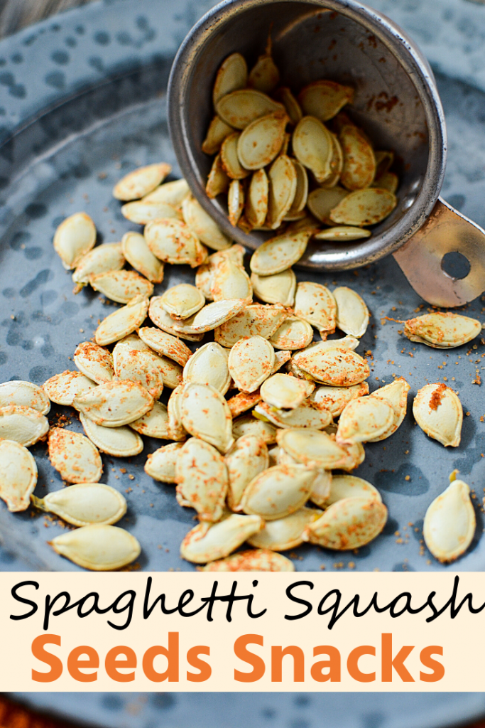 How to Make Spaghetti Squash Seeds Snacks