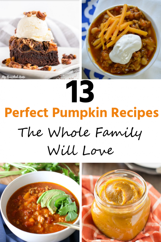 Perfect Pumpkin Recipes the Whole Family Will Love